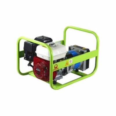 Image of   Pramac generator 5.3hk dk E4000 max 3.4kva benzin med dk stik 2 x 230v