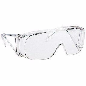 Beskyttelse brille Polysafe. Kan bruges med almindelig brille