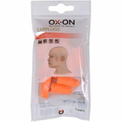 Ox-on Ørepropper comfort Bløde, smidige & smudsafvisende - 5 par