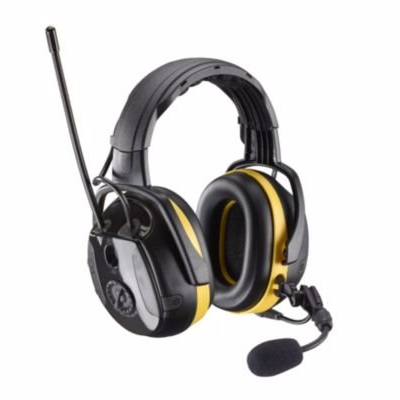 Image of   2H Høreværn secure energy med bluetooth og FM radio