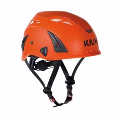 Image of   Kask sikkerhedshjelm orange Plasma AQ, indbygget hagerem, EN 397 LD