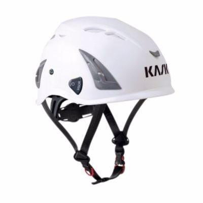 Image of   Kask sikkerhedshjelm hvid Plasma AQ, indbygget hagerem, EN 397 LD