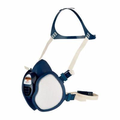 Image of   3M halvmaske 4255+ Vedligeholdelsesfri med indbyggede filtre