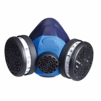 OX-ON halvmaskekit, construction comfort med 2 stk. P3 filtre.