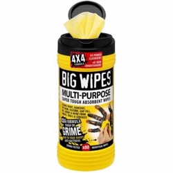 Big wipes multi-purpose 80 Ekstra stærke anti-bakterielle renseservietter - 80 stk pr. bøtte