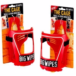 Big wipes bracket. Holder for montering på væg eller i bil.