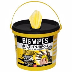 Big wipes multi-purpose 300 Ekstra stærke anti-bakterielle renseservietter - 300 stk pr. spand