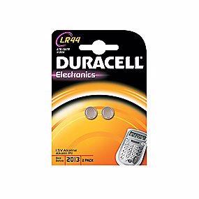 Duracell Electronics LR44 batteri - 2 stk. pr. pakke
