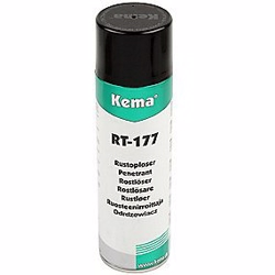 Kema rustopløser RT-177 UN 1950 Arosoler, Brandfarlige 2.1. 500ml spray