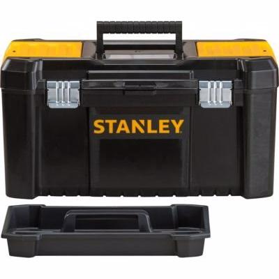 Stanley Værktøjskasse 48x25x25cm STST1-75521 - metal/plastik i sort/gul