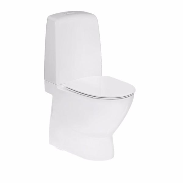Image of   Ifö Spira Art toilet 6240 Indbygget S-lås. Til limning. Rimfree