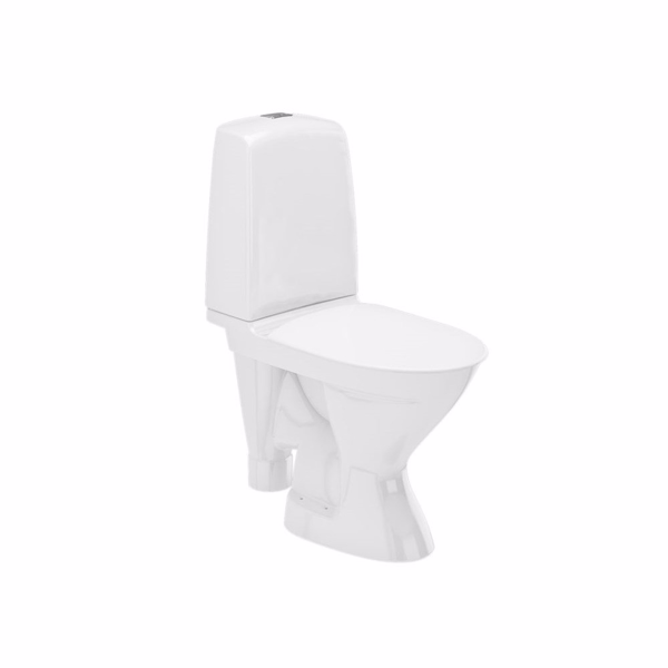 Image of   Ifö Spira toilet 6270 åben S-lås. Rimfree