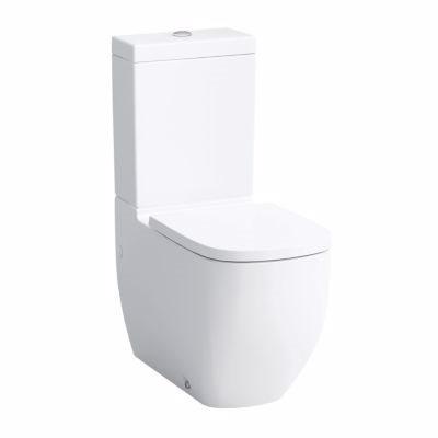 Image of   Laufen Palomba toiletskål skjult lås hvid porcelæn