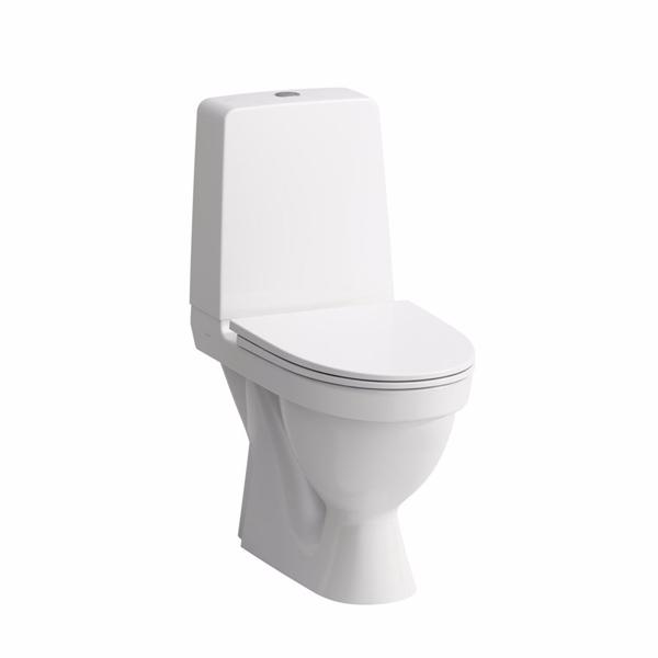 Image of   Laufen Kompas skjult s-lås wc skjult s-lås rimless