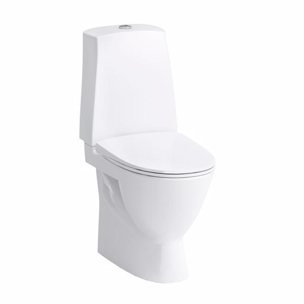 Image of   Laufen pro-n toilet LCC med skjult S-lås, t/bolt, ekskl. multikvik