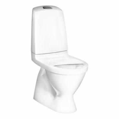 Image of   Gustavsberg Nautic toilet 1500 til limning med Ceramic Plus. S-lås