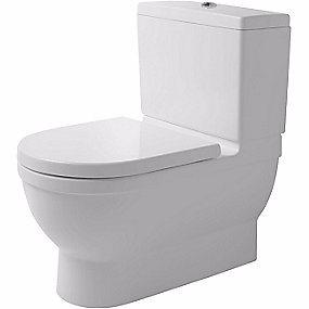 Image of   Duravit Starck 3 Big toilet 74cm toiletskål. Uden cisterne og sæde. Skjult lås