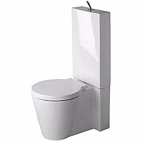 Image of   Duravit Starck 1 gulvtoilet. Uden cisterne og sæde. Med universallås 415x640mm WonderGliss