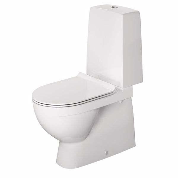Image of   Duravit Nordisk toilet DuraStyle med multiquick
