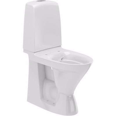 Image of   ifö spira rimfree toilet høj model. S-lås