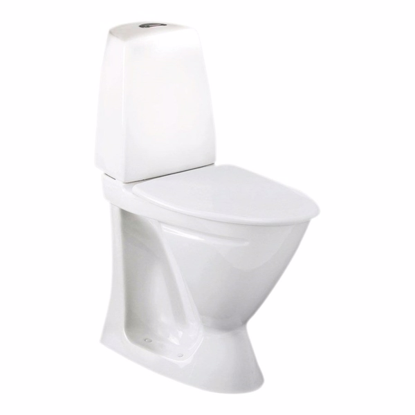 Image of   Ifö Sign toilet 6872 Hvid Universallås Høj model (P-lås)