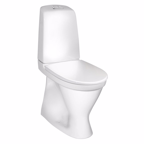 Image of   Gustavsberg Nautic Toilet 1546 Høj model. S- lås. Hygienic Flush