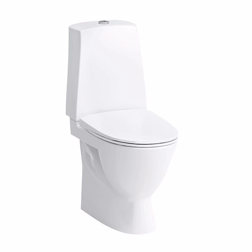 Image of   Laufen pro-n toilet med skjult S-lås 46cm høj model. Ekskl. multikvik