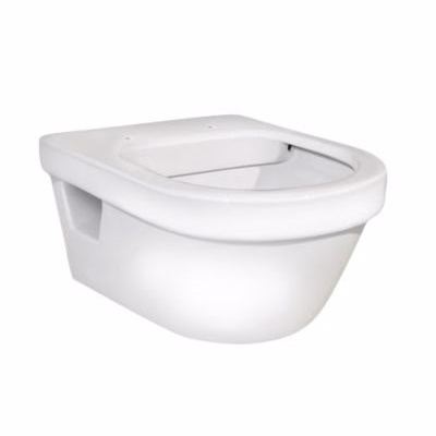 Image of   Gustavsberg Hygienic Flush hængeskål med åben skyllerand. 5G84