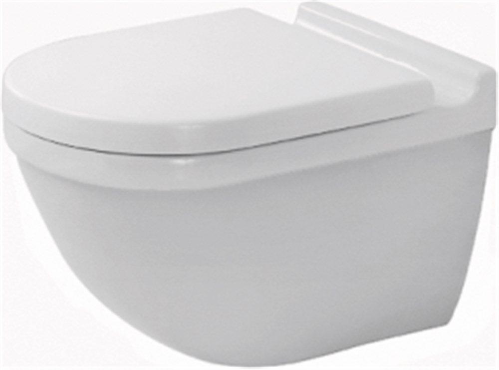 Starck 3 toilet 360x540mm med skjult montering og Wondergliss