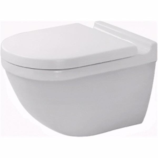 Image of   Duravit Starck 3 toilet 360x540mm med skjult montering og Wondergliss