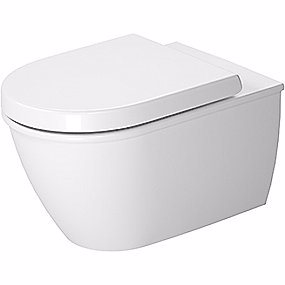 Image of   Duravit Darling New vægtoilet 370x540mm med skjult montering og Wondergliss