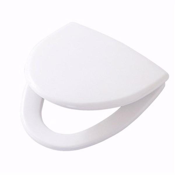 Image of   Ifö Cera sæde med softclose, quick release/faste beslag. Hvid