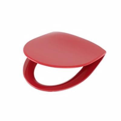 Image of   Ifö Spira toiletsæde med quick release. Rødt
