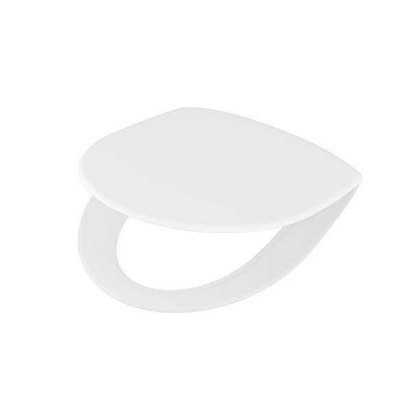 Image of   Ifö Spira sæde med soft close, quick release og faste beslag. Hvid