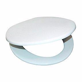 Image of   Gustavsberg toiletsæde til 315 serien. Blød model. Hvid