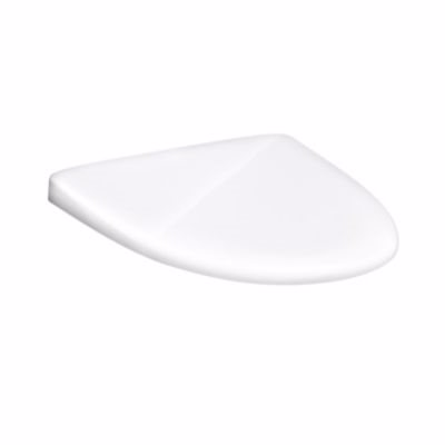 Image of   GB Estetic toiletsæde m/låg 460x380x50mm hvid