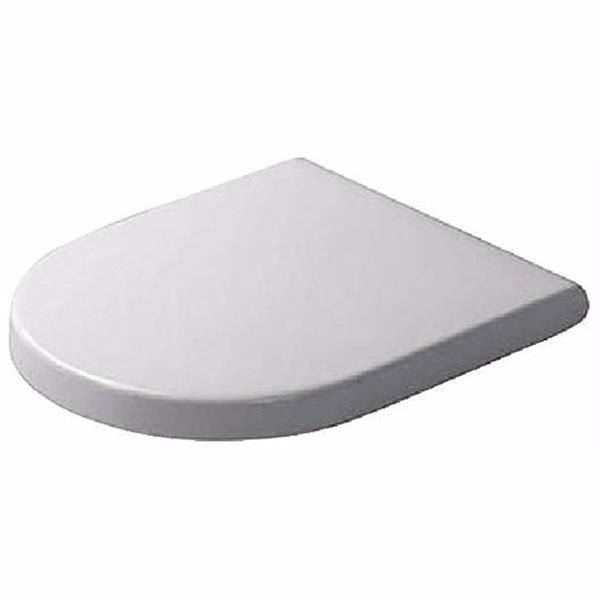 Image of   Duravit Starck 3 toiletsæde hvid med SoftClose