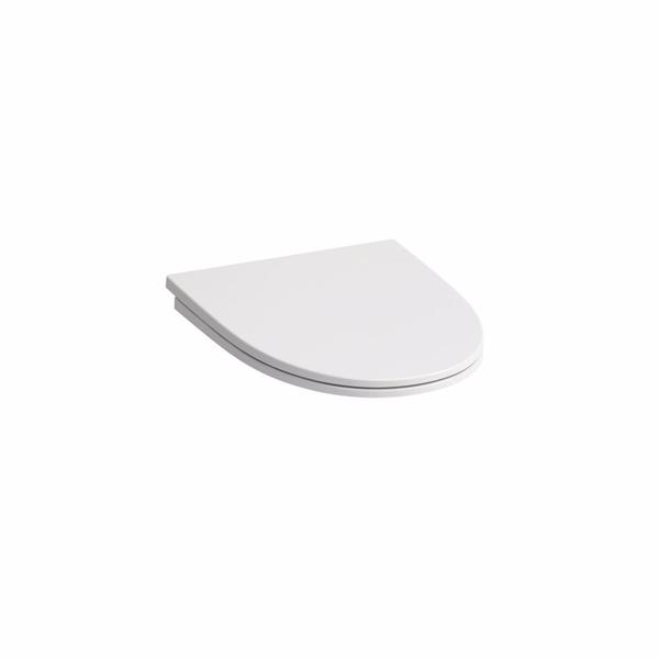 Image of   Laufen Kompas toiletsæde, hvid faste beslag hvid