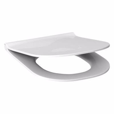 Laufen mio E toiletsæde slim med softclose. Fremstillet i hårdt duroplast hvid