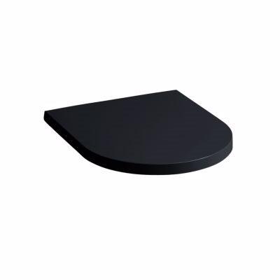 Image of   Kartell by Laufen toiletsæde topmonteret.HUSK 633046001. sort højglans