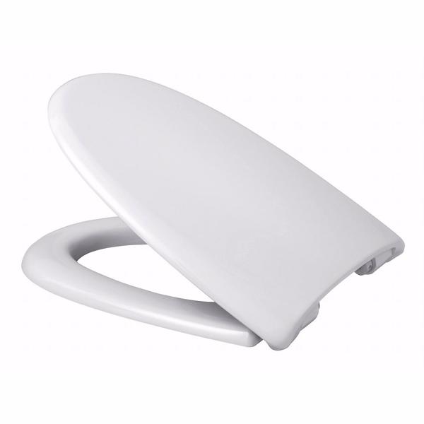 Image of   Alterna Baltiq II toiletsæde med faste beslag, hvid