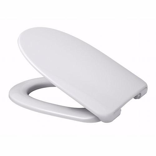 Image of   Alterna Polar toiletsæde med faste beslag, hvid