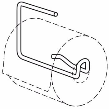 Image of   Pressalit Care papirholder til R1170 og R1171
