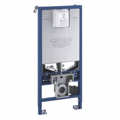 Image of   Grohe Rapid indbygningscisterne SLX 6-9 l 1,13m, integreret sokel, shower toilet-tilslutning.