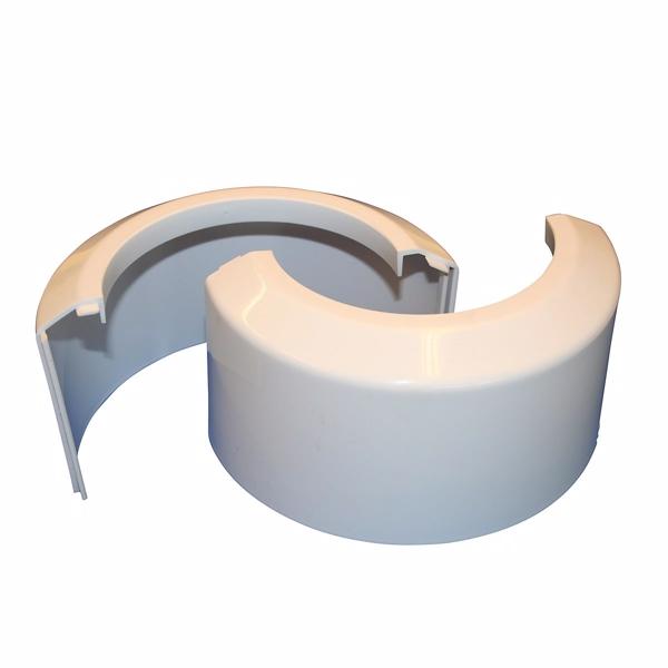Muffeskjuler 2-Delt Hvid