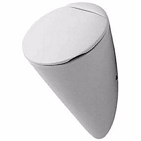 Image of   Duravit Starck 1 Urinal. Skjult tilslutning. Model til låg. Med flue. Wondergliss Hvid