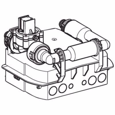 Image of   Geberit Preda/Selva urinalstyring til batteri