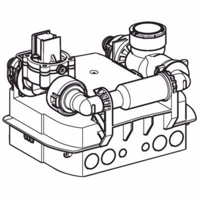 Image of   Geberit Preda/Selva urinalstyring med akumolator