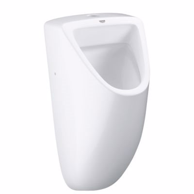 Image of   Grohe Bau Ceramic Urinal. Indløb foroven