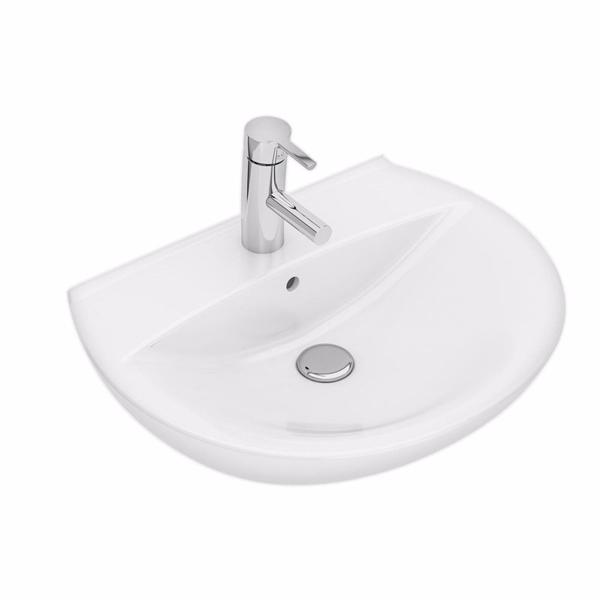 Ifö Spira håndvask buet 570 x 435 mm.